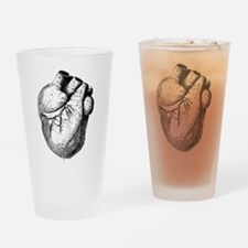 Anatomical Heart Drinking Glass