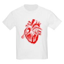 Human Heart Red T-Shirt