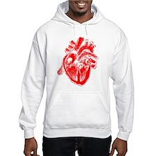 Human Heart Red Hoodie