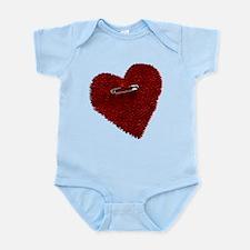 Pinned On Heart Infant Bodysuit