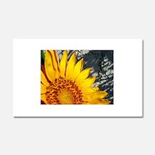 Sunset Sunflower Car Magnet 20 x 12
