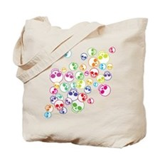 Jumble Of Sugar Skulls Tote Bag
