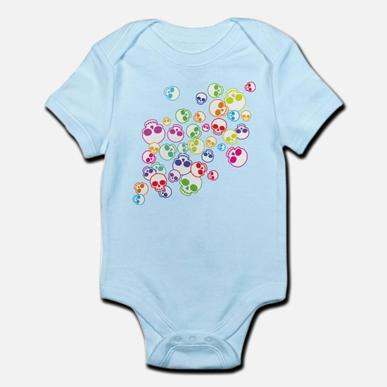 Jumble Of Sugar Skulls Infant Bodysuit