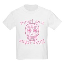 Sweet As A Sugar Skull Pink T-Shirt