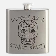 Sweet As A Sugar Skull Flask