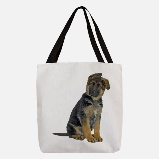 FIN-german-shepherd-puppy-photo.png Polyester Tote