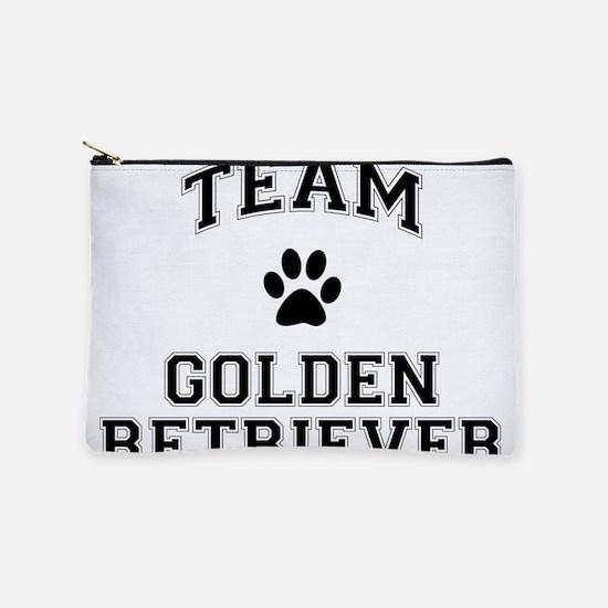 Team Golden Retriever Makeup Pouch