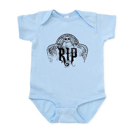 Halloween Tombstone RIP Infant Bodysuit