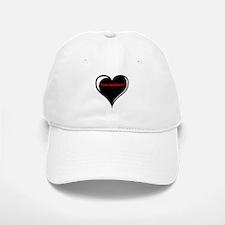 Customizable Heart Baseball Baseball Cap