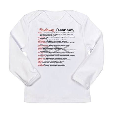 Phishing Taxonomy Long Sleeve Infant T-Shirt