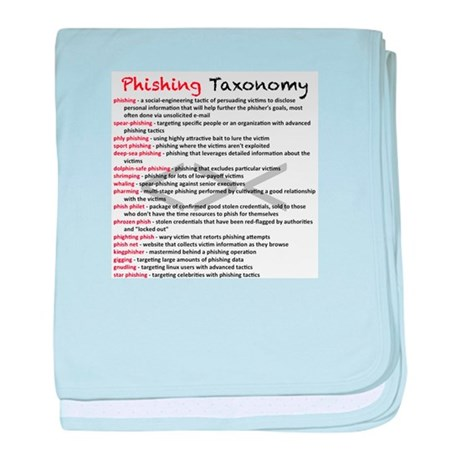 Phishing Taxonomy baby blanket