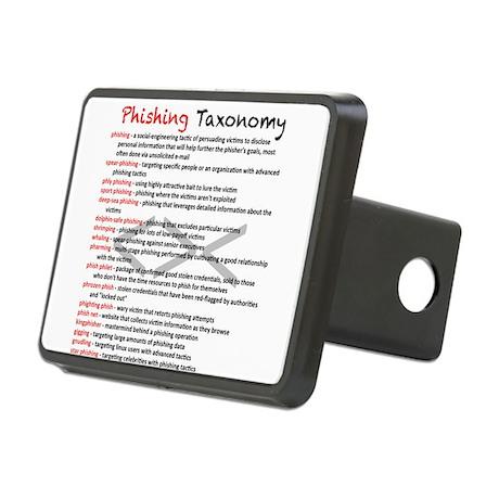 Phishing Taxonomy Rectangular Hitch Cover