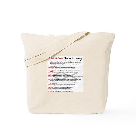 Phishing Taxonomy Tote Bag