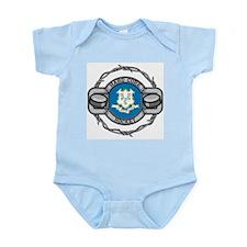 Connecticut Hockey Infant Bodysuit