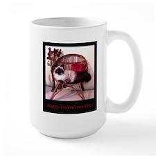Happy Valentines Cat Lg Mug