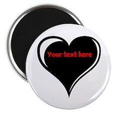 Customizable Heart Magnet