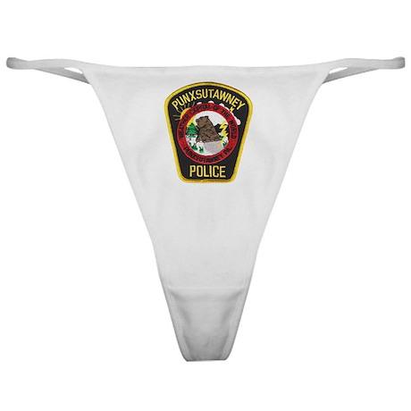 Punxsutawney Police Classic Thong