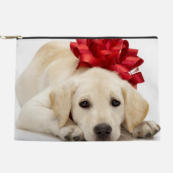 Yellow Lab Puppy Makeup Pouch