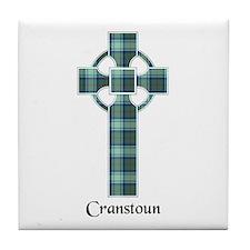 Cross - Cranstoun Tile Coaster