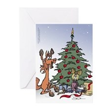 A kid for Christmas Greeting Cards (Pk of 10)