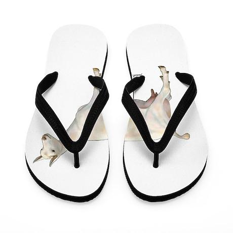 Saanen Dairy Goat Flip Flops