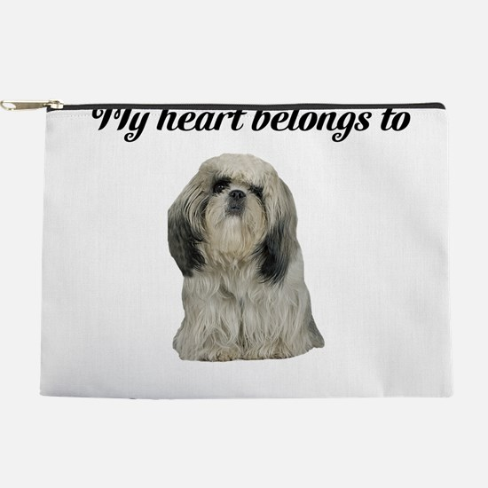 Personalized Shih Tzu Makeup Pouch