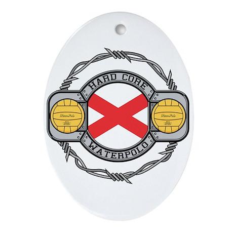 Alabama Water Polo Oval Ornament