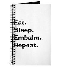 eat sleep embalm.PNG Journal