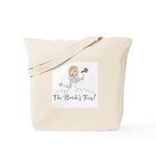 Blonde Team Bride Tote Bag