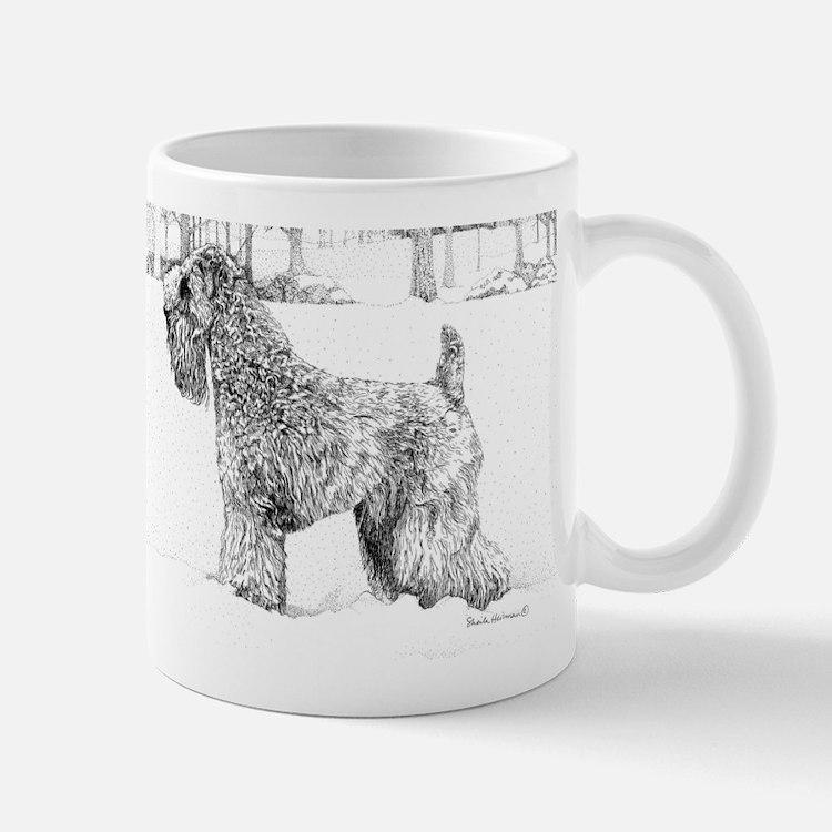 Snow dog Small Small Mug
