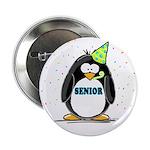 Senior Party Penguin Button