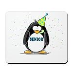 Senior Party Penguin Mousepad