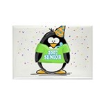 Senior 2007 Party Penguin Rectangle Magnet (100 pa