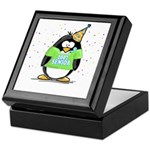 Senior 2007 Party Penguin Keepsake Box