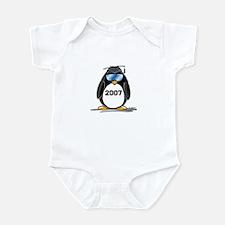 Cool Graduate 2007 Penguin Infant Bodysuit