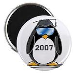 Cool Graduate 2007 Penguin Magnet
