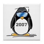 Cool Graduate 2007 Penguin Tile Coaster