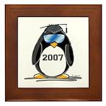 Cool Graduate 2007 Penguin Framed Tile