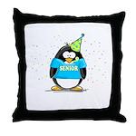 2007 Senior Party Penguin Throw Pillow