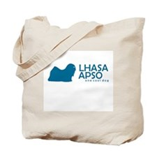 "Lhasa Apso ""One Cool Dog"" Tote Bag"