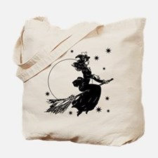 Old Fashioned Witch Tote Bag