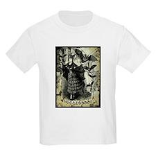 Victorian Halloween Bat Collage T-Shirt