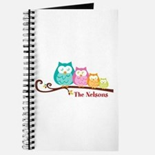 Custom owl family name Journal