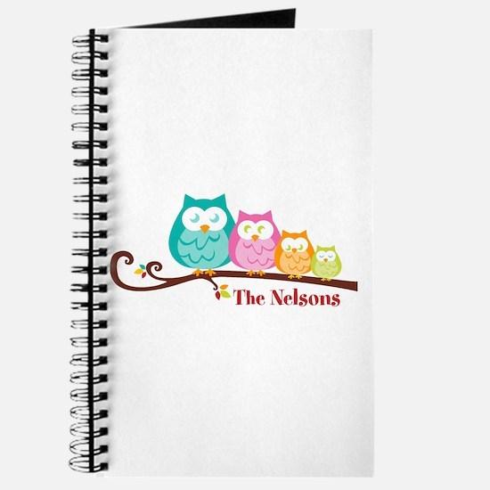 Custom owl family name Journal