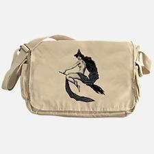 Vintage Saucy Witch Messenger Bag