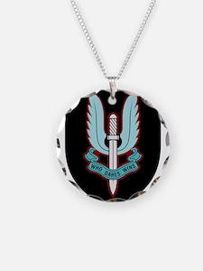 Cap Badge of SAS Necklace