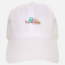 Custom owl family name Baseball Baseball Cap
