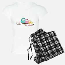 Custom owl family name Pajamas