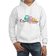 Custom owl family name Jumper Hoody