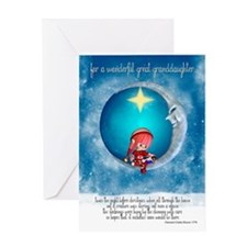 Great Granddaughter Christmas Greeting Card